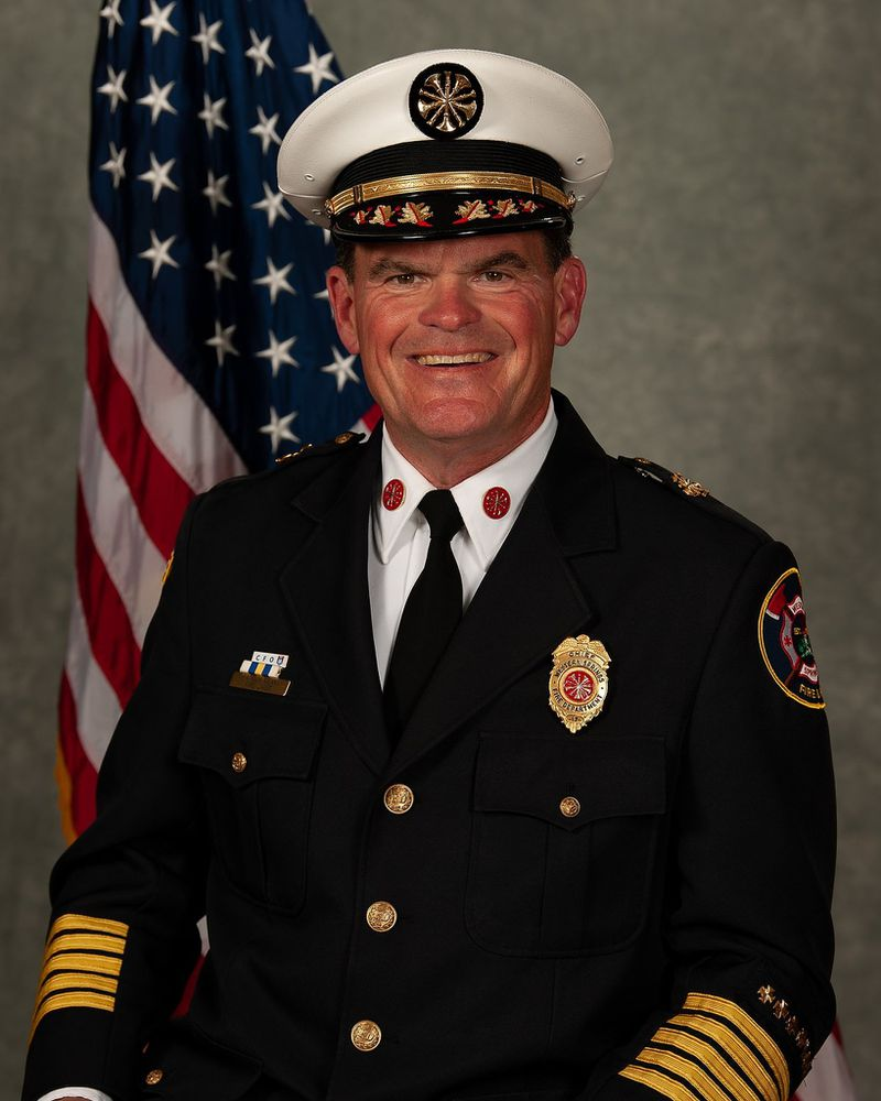 Fire Chief Patrick Kenny