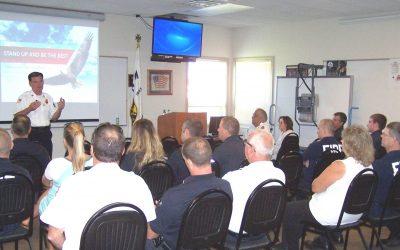 Pat Kenny Keynote Speaker at the Effingham Fire Department